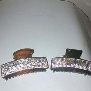 Bling bling hairclips